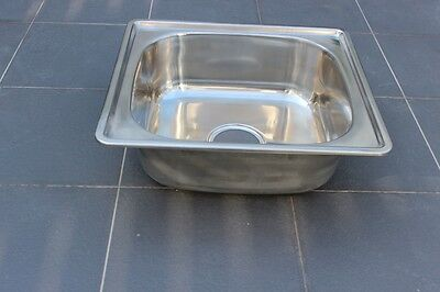 #304 Stainless Steel Kitchen Sink - Square Bowl (45cm x 40cm)