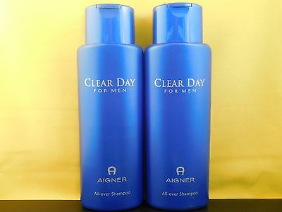 2 x Etienne Aigner Clear Day For Men All Over Shampoo je 500ml
