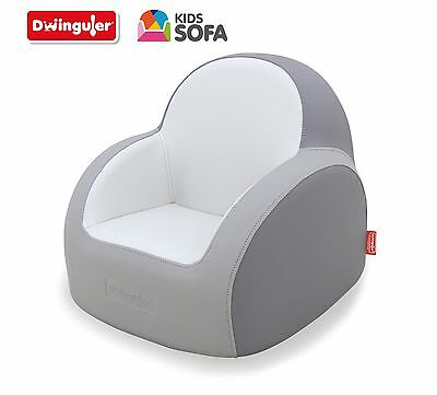Dwinguler - Kids Sofa - Dove Grey - Kinder Sofa - Child Sofa