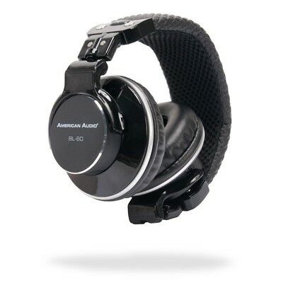 American Audio BL-60B On Ear Headphones