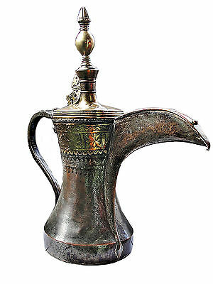 Islamic huge arabian fine  Dallah Coffee Pot from Oman - Antique