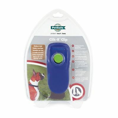 PetSafe Clik-R Clip Training System Purple Clicker Training Tool