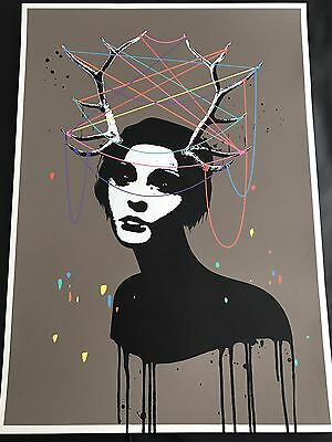 Signed Eelus - The Taming of a Wild Mind Print Pow
