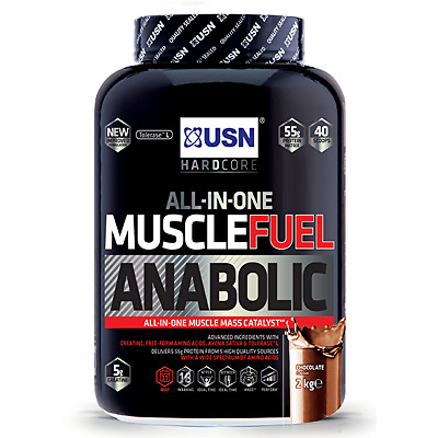 Usn Muscle Fuel Anabolic 2Kg  4Kg - Protein Powder Mass Gainer Meal Replacement