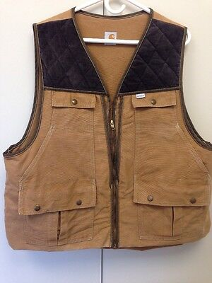 86bf038e09bd3 CARHARTT UPLAND BIRD Hunting Vest with Game Pouch and shell pockets ...