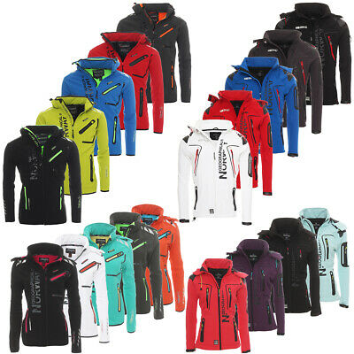Geographical Norway Partner Damen / Herren Softshelljacke Sport Softshell Jacke