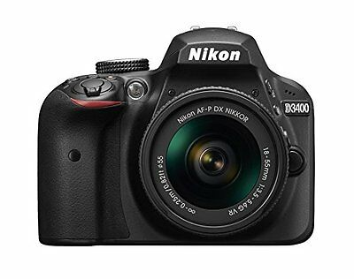 Nikon D3400 DSLR Camera with AF-P 18-55mm Lens (Black)!! USA MODEL BRAND NEW!!