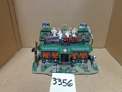 Lemax Spooky Town Graveside Diner 95805 As-Is 3356