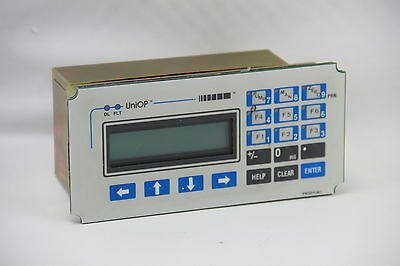 UniOP MD03R-02-0042 Operator Interface PLC/PC Port 24VDC 2X20 LCD 19-Key EPROM