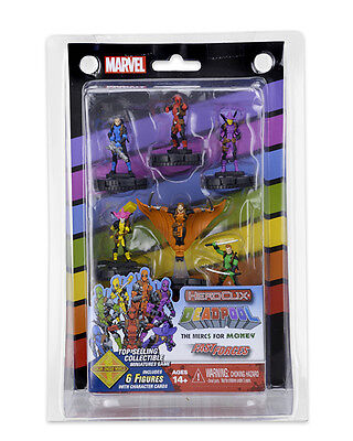 Marvel Heroclix - The Merc$ for Money Fast Forces Set