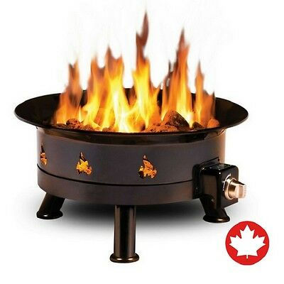 Outland Fire Bowl Mega Portable Outdoor Adjustable Propane Fire Pit 58,000 BTU
