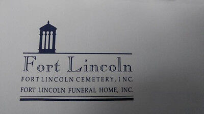 Fort Lincoln Double-Depth Cemetery Plots --up to six sites