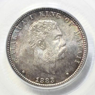 1883 Hawaii Quarter PCGS MS65 ***Rev Tye's Coin Stache*** #8817675