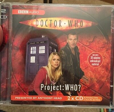 Doctor Who , Project Who? by AudioGO Limited (CD-Audio, 2005)
