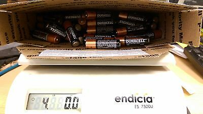4Lb Lot Of Mixed Random Aa Batteries For Toys Rc Cars **read Listing**