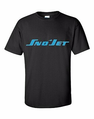 SNO JET VINTAGE Snowmobile Short Sleeve Tshirt CHOOSE YOUR COLOR SNOJET