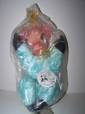 """Vintage MINT RARE 1950's Elsie the Cow Plush Doll The Borden Company MOO's 12"""""""