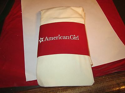 American Girl CL MY AG HOLIDAY TIGHTS SIZE M  (10-12) for Girls Cream Nylon NEW