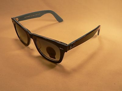 Ray-Ban Wayfarer Sunglasses RB2140 Black Blue / Gradient