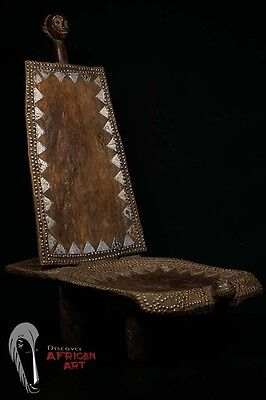 Discover African Art Beautiful Old Nyamwezi Chair Tanzania