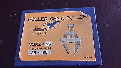 Whale Roller Chain Puller model 35 chain sizes 35-60