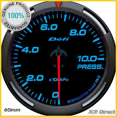 DEFI Racer Gauge Oil/Fuel Pressure Gauge 60mm Blue