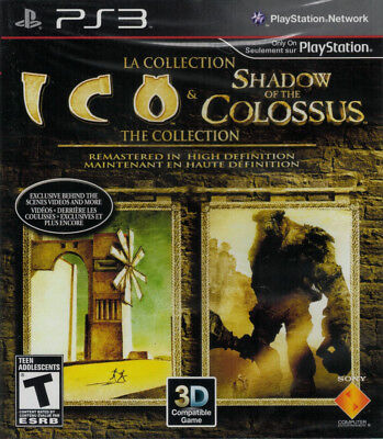 The ICO and Shadow of the Colossus Collection PS3 | PlayStation 3  - New Game