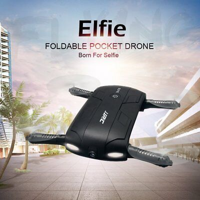 Foldable Camera Drone ELFIE Quadcopter 6-Axis WIFI 720P FPV Phone Contro Selfie