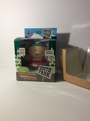 "RARE 1998 South Park * BEEFCAKE CARTMAN TALKING DESKMATE*  8.5"" Figure Doll Toy"