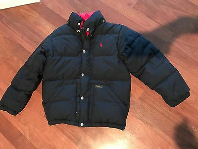 Polo 8 Puffer Ralph Size Coat Lauren Kids Quilted Down Jacket E29IDH