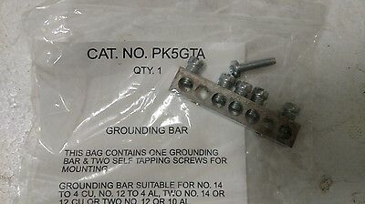 Square D Grounding Bar Assembly Pk5Gta 26365 New Pk5Gta