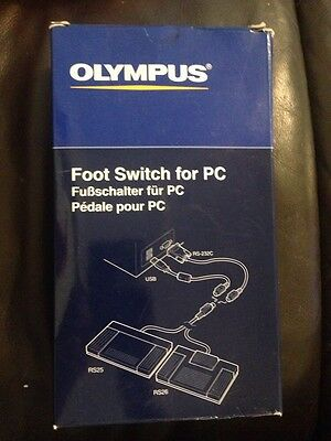Olympus AS-2300 PC Transcription Kit Foot Switch USB for PC New