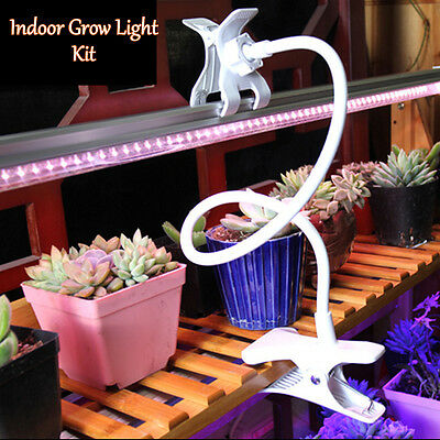 Led Indoor Plant Grow Light Kit Office Home Greenhouse Grow Tube Kit T5 30cm