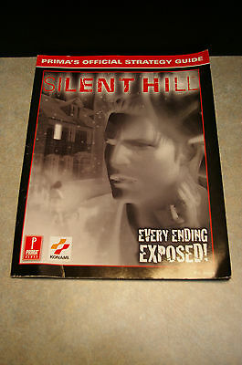 Rare Original 1999 'playstation' 'silent Hill' Prima's Official Strategy Guide