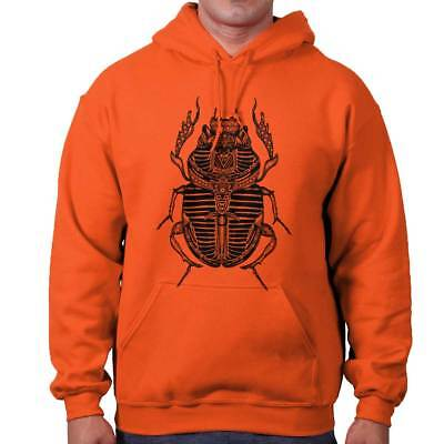 Ancient Egyptian Holy Scarab Beetle Spiritual Hoodies Sweat Shirts Sweatshirts