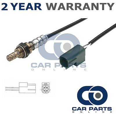 For Nissan Primera P11 1.6 16V 2000-01 4 Wire Rear Lambda Oxygen Sensor Exhaust