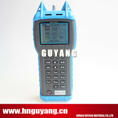 MS1703Q 5 ~ 870MHz Signal Level Meter Signal Strength Measurements machine catv