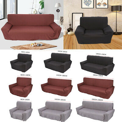 New Stretch Elastic Sofa Cover Slipcover Couch Cover 1 2 3 Seater Protector Fit
