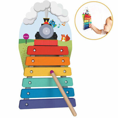 Oribel Vertiplay Musical Instrument Xylophone for Kids Toddler/Wall/Wooden Toy
