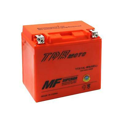 YTX14L-BS 12V GEL Motocycle Battery Harley Davidson 1200 XL XLH Sportster crusie
