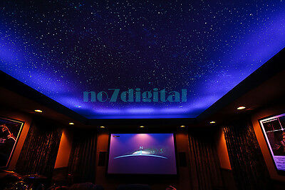 twinkle stars fiber optic lights kit RGBW led light source+600x3m pmma top fibre