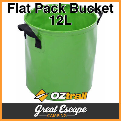OZtrail Collapsable Flat Pack Bucket 12L