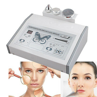 1MHZ Ultrasound Ultrasonic Anti Aging Beauty Facial Skin Spa Salon Machine 【US】