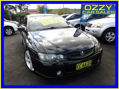 2004 Holden Commodore VY II SS Black Automatic 4sp A Sedan