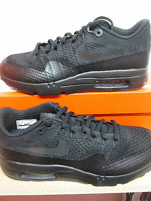 best loved ea0d2 2bfdf Nike Air Max 1 Ultra Flyknit Mens Running Trainers 856958 001 Sneakers Shoes