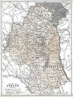 Map of County Armagh, dated 1897.