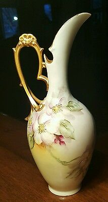 vintage hand painted pitcher made in France (D&C)