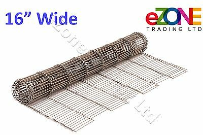 "16"" Wire Mesh Conveyor Belt for Zanolli Synthesis 06/40VG/E 400C"
