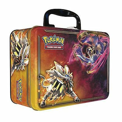 Pokemon Cards Spring 2017 Collectors Chest Tin Solgaleo Lunala inc Booster Packs