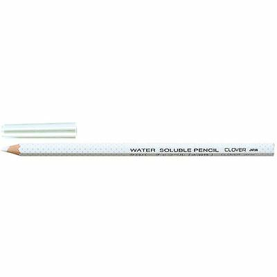 Clover Water Soluble White Pencil Quilting Accessory Drawing Tracing Sewing